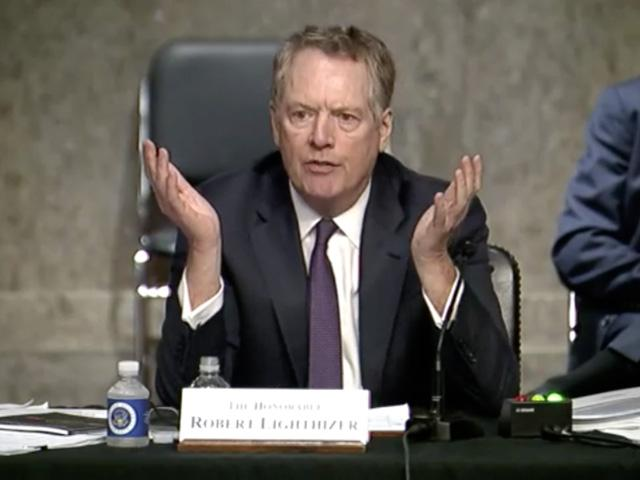 U.S. Trade Ambassador Robert Lighthizer testified Wednesday before both the House and Senate committees responsible for trade policy. Lawmakers asked about an array of topics, but China, USMCA and the WTO were repeated themes. (DTN image from committee website)
