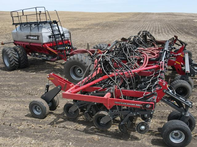 Concord's new 39-foot Precision Shank Drill allows producers to take full advantage of planting speed at lower horsepower.