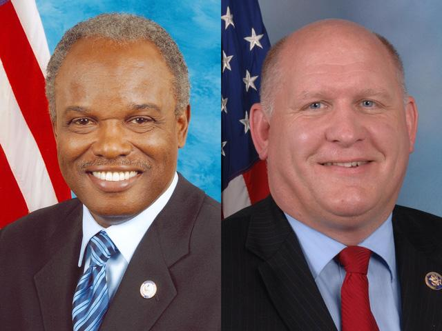 "The House Democratic Caucus on Thursday approved Rep. David Scott, R-Ga., as chairman of the House Agriculture Committee. Rep. Glenn ""GT"" Thompson, R-Pa., was elected by Republicans to serve as ranking member on the committee. (Official congressional portraits)"