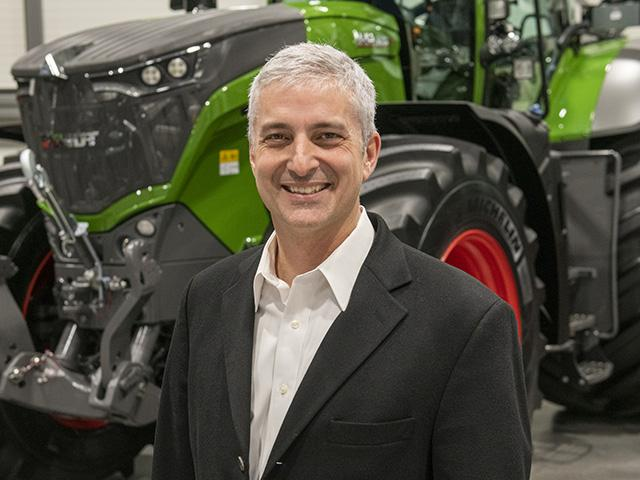 Incoming AGCO CEO Eric Hansotia begins his new duties in 2021. (DTN photo Courtesy of AGCO Corp)