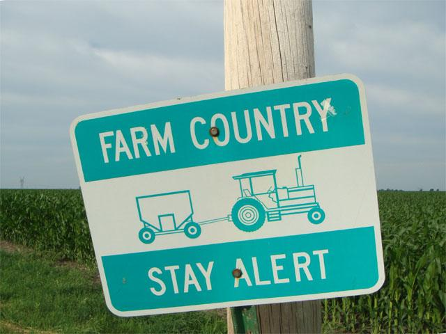 Stay alert to thoughts of safety because every farmer matters. (DTN photo by Pamela Smith)