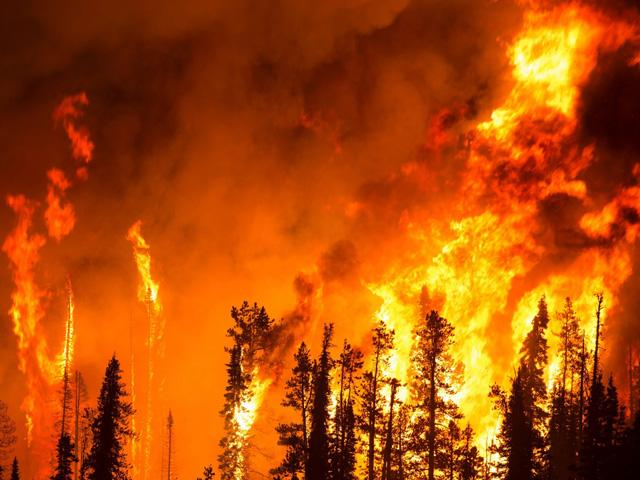 Climate Change impact on conditions supporting immense Western wildfires and Corn Belt flash drought has been repeatedly noted in U.S. climate reports. (Creative Commons photo by Jean Beaumont)