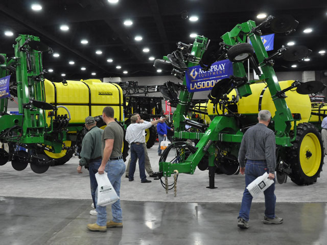 The National Farm Machinery Show 2013. (DTN photo by Russ Quinn)