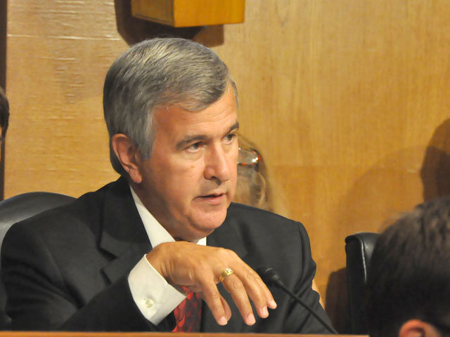 Sen. Mike Johanns during a Senate Agriculture Committee hearing in 2012.