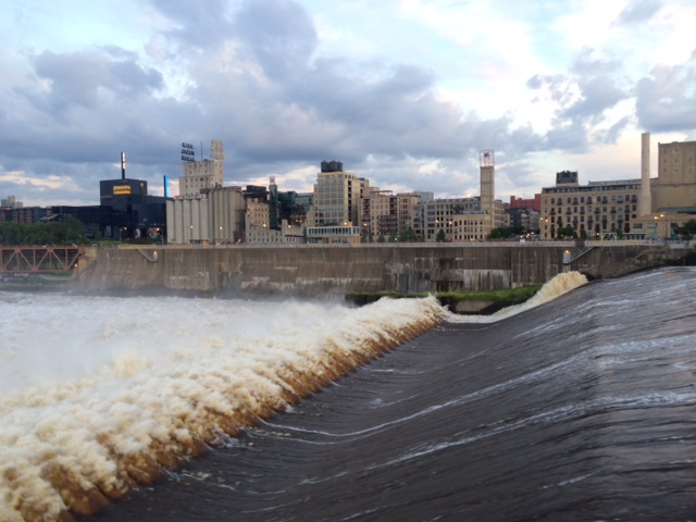 On Dec. 18, the U.S. Army Corps of Engineers (USACE), St. Paul District, in a press release stated that they were closing the Upper St. Anthony Falls Lock in Minneapolis to all navigation. (Photo by Kelly Moshier)