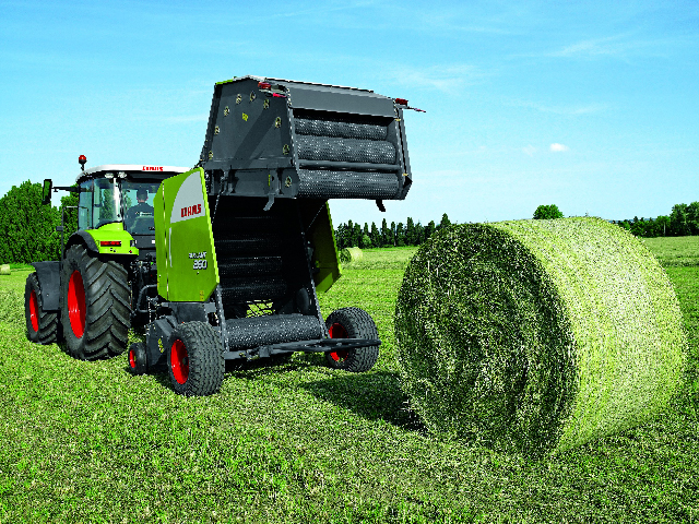 Follow a maintenance and safety checklist to avoid baling problems and accidents. (Photo courtesy of CLAAS)