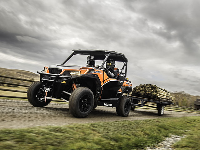 The new side-by-side fits between models aimed strictly at sport and those made for work. (Photo from Polaris)