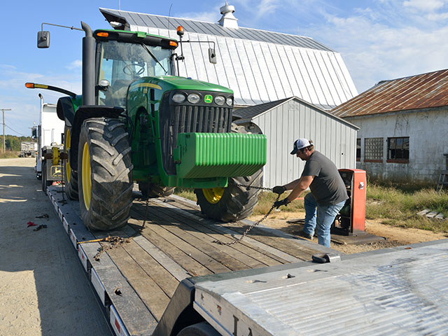 Equipment is moving more slowly on and off farms these days as producers lower their investment per acre in machinery. (DTN/The Progressive Farmer photo by Jim Patrico)