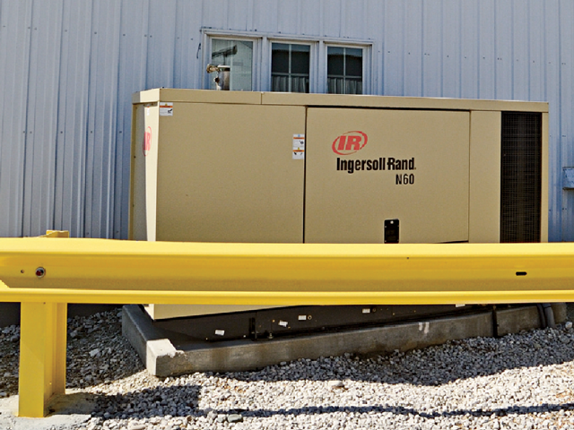 A backup generator can keep your shop, livestock facility and home running even when something knocks out the grid. (DTN/The Progressive Farmer photo by Jim Patrico)