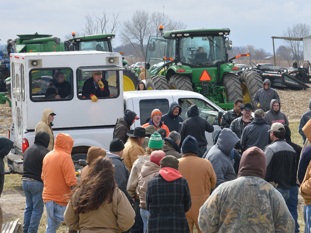 A Missouri farm auction said a lot about the year now ending. Let's hope 2017 does not mirror 2016. (DTN/The Progressive Farmer photo by Jim Patrico)