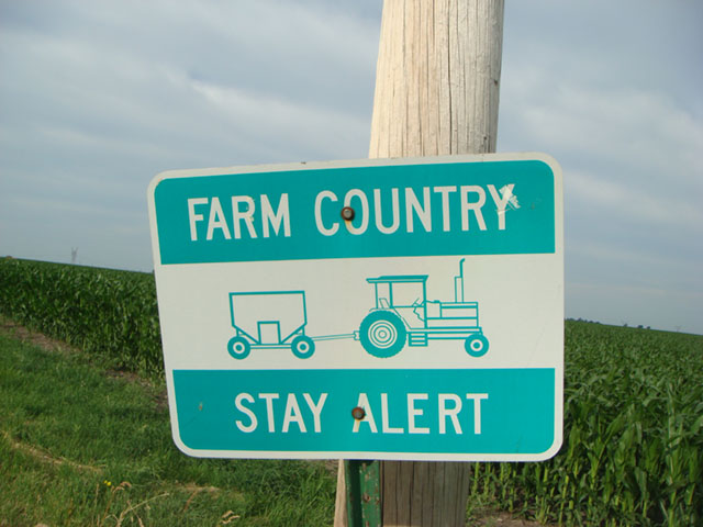 It's time to raise awareness of the hazards inherent in agricultural practices. (DTN photo by Pamela Smith)