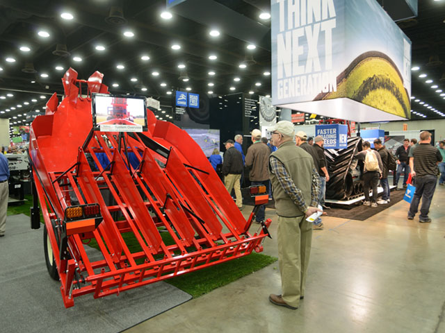 The National Farm Machinery Show provides an annual opportunity to take the pulse of buyers and sellers. (DTN/The Progressive Farmer photo by Jim Patrico)