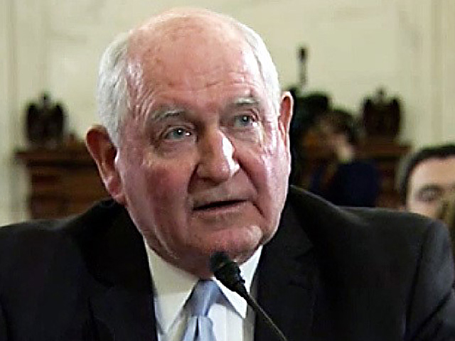 Agriculture Secretary Sonny Perdue testifying before Congress last year. Perdue announced plans Thursday to move two USDA agencies out of Washington, D.C.