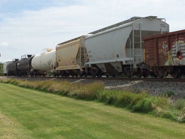 Agricultural shippers rated the performance of the nation's seven largest freight railroads in the annual Soy Transportation Coalition (STC) Railroad Report Card. The latest report card was released Aug. 3, 2017. (Photo by Mary Kennedy)