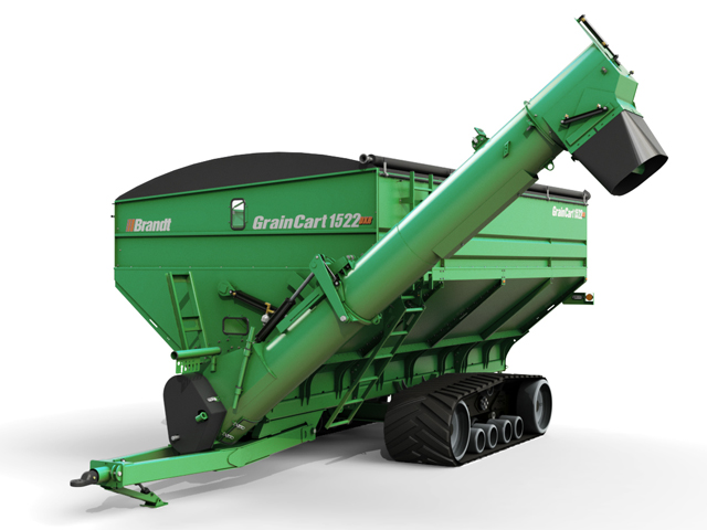 Brandt grain cart. (Photo courtesy of Brandt)