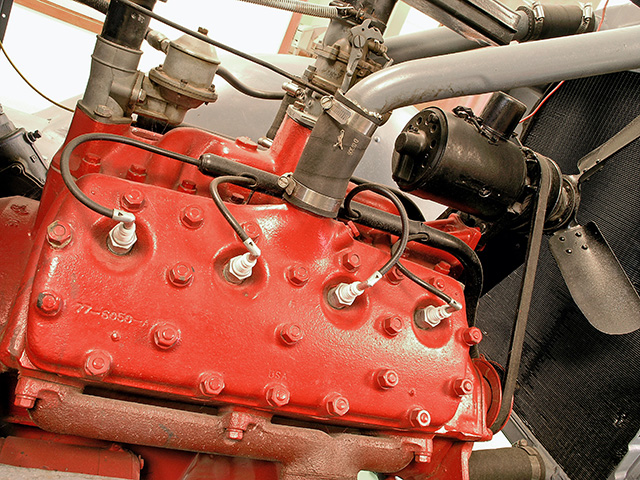 A flathead engine has advantages, such as its simple design, but it also has some disadvantages. (Getty Images photo)