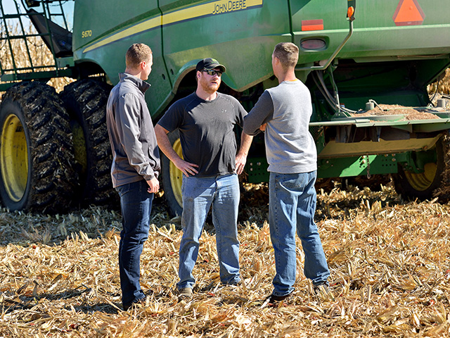 Sharing information can help limit conflicts on a farm or ranch between family members. (DTN/Progressive Farmer photo by Jim Patrico)