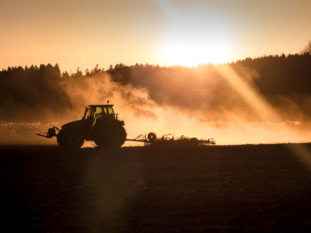 Tractor and combine sales were down in March. But it is too soon to point a finger at COVID-19 for the result. (Image by Getty Images)