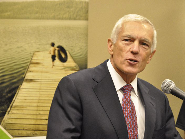 Retired Army Gen. Wesley Clark, a board member for Growth Energy, spoke on Friday at Earth Day Texas, one of the largest Earth Day festivals in the U.S. (DTN file photo)