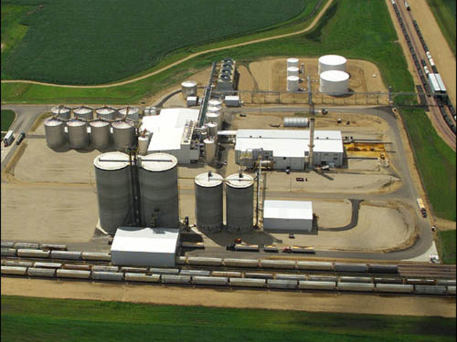 Pacific Ethanol has not made a decision about whether to idle its 110-million-gallon plant in Aurora, Nebraska. (DTN file photo)