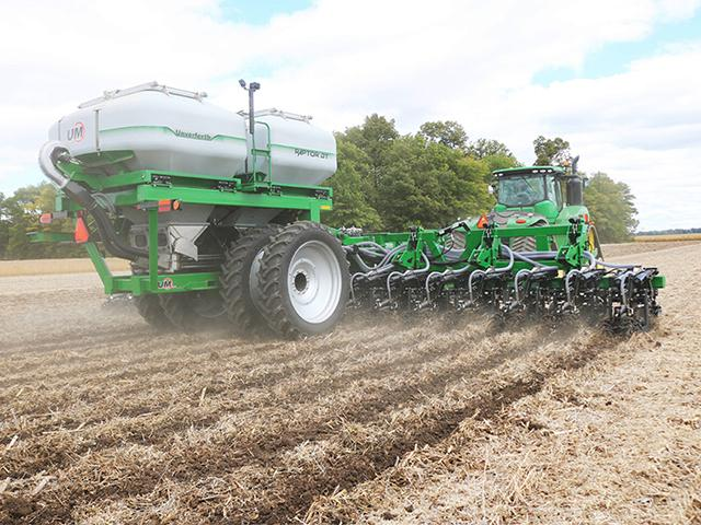 Unverferth brings the Raptor strip-tillage tool to market. (Photo courtesy of Unverferth)