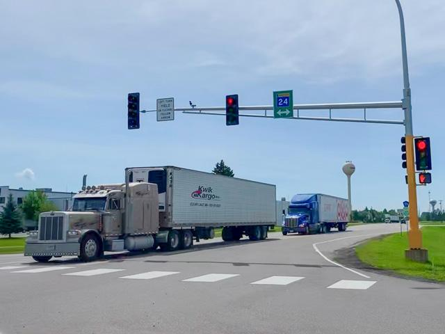 On June 1, FMCSA revised the hours of service (HOS) regulations to provide greater flexibility for drivers without adversely affecting safety. Motor carriers are required to comply with the new and final HOS regulations starting on Sept. 29 at 12:01 a.m. ET. (Photo by Mary Kennedy)