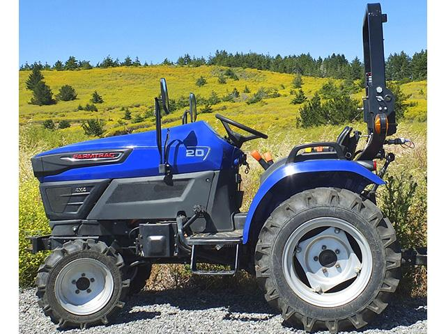 Solectrac has delivered its first tractor to an ag and environmental school in Hawaii. (DTN photo courtesy of Solectrac Inc.)