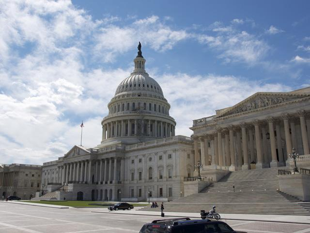The U.S. Capitol with the Senate chamber on the right side. Political forecasts as of Monday favored the Democratic party to capture the Senate. Currently, as many as five Senate seats held by members of the Senate Agriculture Committee are considered competitive races. (DTN file photo)