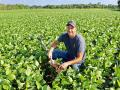 Dustin Edwards has cut back on acres where landowners won't lower rents or agree to crop share leases. (Progressive Farmer image by Des Keller)