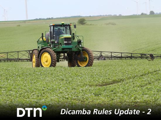 In the second story of DTN's Dicamba Rules Update series, learn how and why dicamba applicators will face state-by-state dicamba cutoff rules in 2021, despite EPA's newly issued federal spray dates. (DTN photo by Pamela Smith)