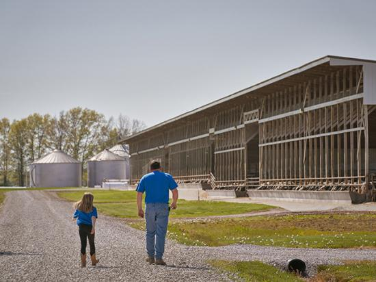 Passing the farm to the next generation is a key consideration for many of today's land buyers. (DTN/Progressive Farmer photo by Jennifer Silverberg)