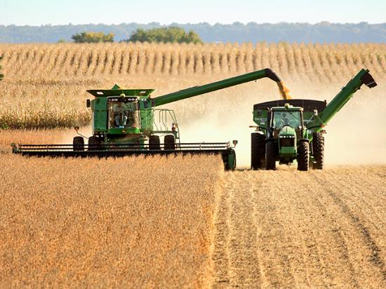 The Food and Agricultural Policy Research Institute sees slightly lower cash receipts for most commodities in 2022 and slightly higher expenses as well. The big drop in farm income could come from lower government payments as pandemic programs end. (DTN file photo)