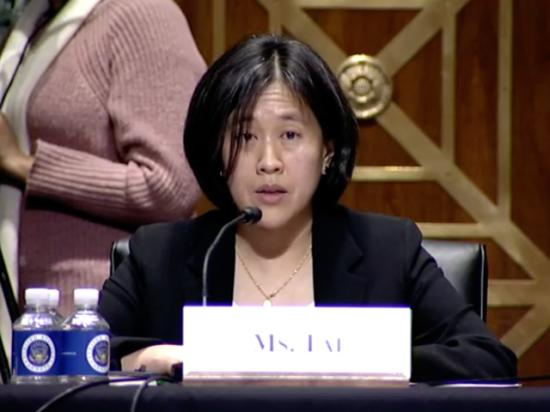 Katherine Tai, President Joe Biden's nominee for U.S. Trade ambassador, testified about agricultural trade and a range of trade issues in her confirmation hearing Thursday before the Senate Finance Committee. Tai is a former counsel for the House Ways and Means Committee and had once served as U.S. chief enforcer for holding China to its trade obligations. (Photo from livestream)