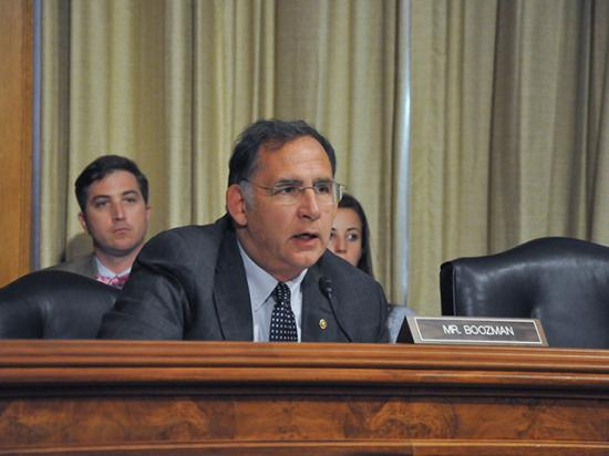 Sen. John Boozman, R-Ark., would be in line to become either the chairman or ranking member of the Senate Agriculture Committee, depending on the outcome of the Georgia Senate runoff elections on Jan. 5. (DTN photo by Nick Scalise)