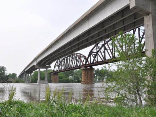 The infrastructure bill in the Senate includes $40 billion more for bridge repair and replacement over the next decade. The bill also carves out $3.26 billion specifically for repairing smaller bridges in rural America. (DTN file photo)
