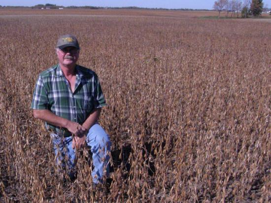 North Dakota farmer Chris Johnson said a C corporation made sense in the early 1990s, but he's planned the shift away carefully to avoid heavy tax bills. (DTN file photo from 2010)