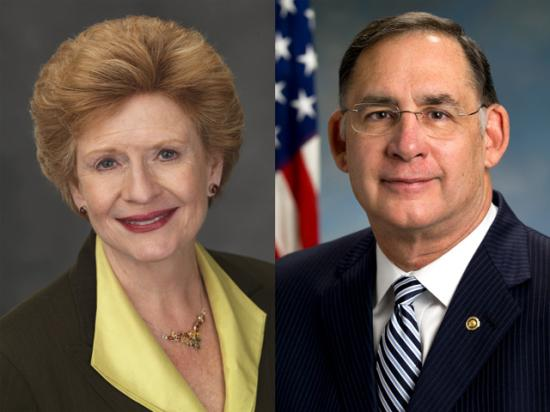 Senate Agriculture Committee Chairwoman Debbie Stabenow, D-Mich., and Senate Agriculture ranking member John Boozman, R-Ark., are taking opposing positions on President Joe Biden's aid package that senators are starting to debate. (Official Senate portraits)