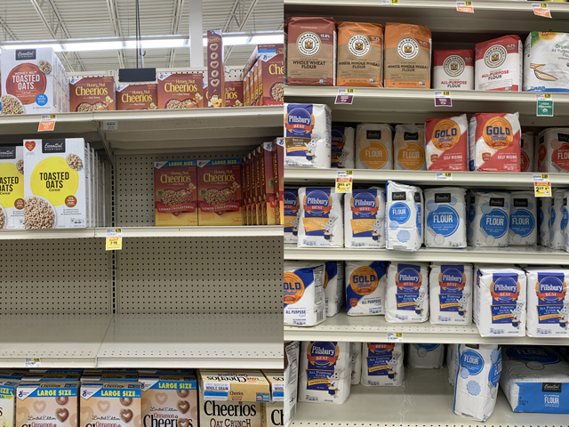 Food prices are already high, but drought in the Northern Plains and western U.S. could influence even higher prices and less availability of some of the food staples made with grains currently failing in some severe drought areas. (DTN photos by Mary Kennedy)