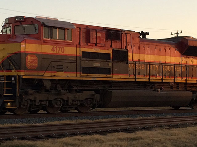 In a surprise move, the Canadian National Railway upped the ante in their quest to acquire the Kansas City Southern away from the current Canadian Pacific Railway offer. (DTN photo by Mary Kennedy)