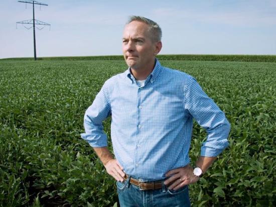 Springfield, Illinois, farmer Kurt Wilke successfully fought a wetlands determination made on his farm. (Photo courtesy American Farm Bureau Federation)