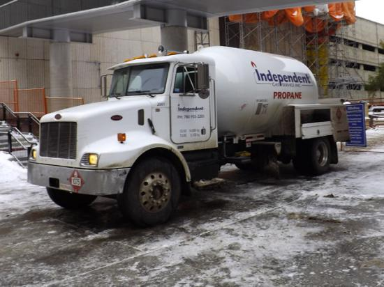 Propane demand is outstripping supply, thanks to cold, damp weather. In some places, priority will be given to hospitals, churches, schools, businesses and homes. (Photo by jasonwoodhead23, CC BY 2.0)