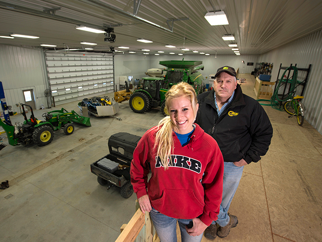 Daughter, Dad Team Up to Construct Super Shop