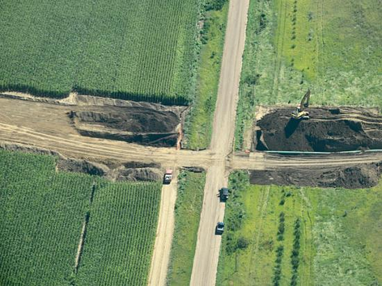 The Nebraska Supreme Court on Friday upheld the process used to approve the route for the planned Keystone XL pipeline. Opponents of the project vowed to continue fighting. (DTN file photo)