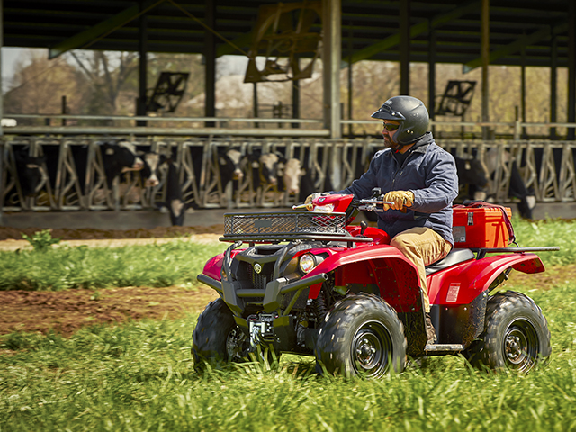 Kodiak 700 4x4 is Working Man's Version of Yamaha's New ATVs