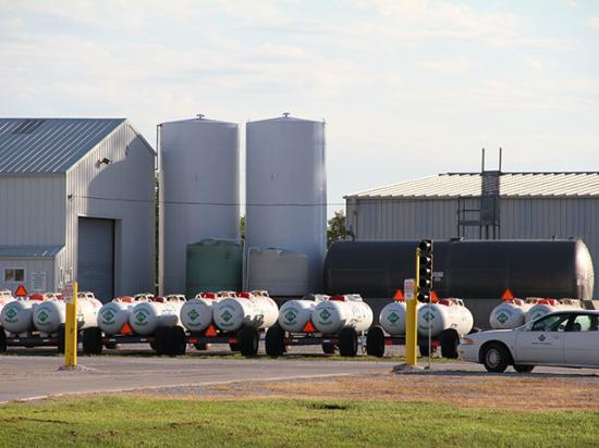 A federal court struck down a change to a federal standard that would have tightened regulation on anhydrous ammonia. (DTN file photo by Elaine Shein)