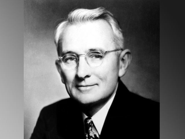 Dale Carnegie was the son of a Missouri farmer whose leadership guidelines defined self-improvement and salesmanship for over 100 years. (Public domain photo)