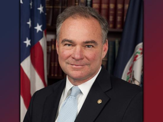 Senator Tim Kaine, D-Va. and Democratic vice presidential candididate.