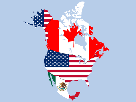 Despite removal of steel and aluminum tariffs, the United States-Mexico-Canada Agreement faces a tight summer schedule to passage. (Graphic by TheMexicanGentleman, Public Domain)