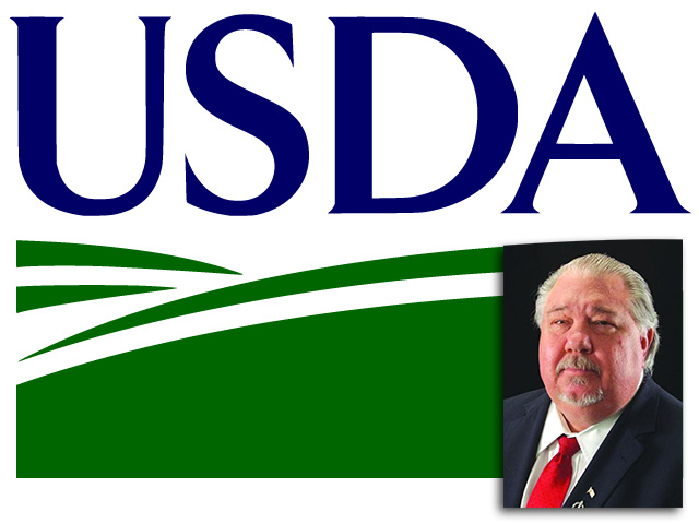 Samuel H. Clovis Jr. is the senior White House adviser to Agriculture Secretary Sonny Perdue and is already being challenged about his possible nomination as Agriculture undersecretary for research, education and economics. (DTN graphic by Nick Scalise)