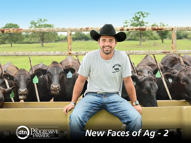 Josh Eilers is building a ranch-to-consumer business. (DTN/The Progressive Farmer photo by Rachel Johnson)